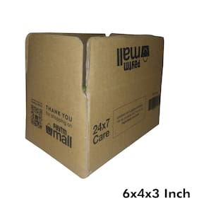 250 gms PT041 Paytm Mall Branded Boxes 6 x 4 x 3 Inches (Pack of 1000)