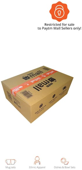 2500 gms PT012 Paytm Mall Branded Boxes, 14 x 10 x 5 Inches (Pack of 50)