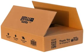 3000 gms PT035 Paytm Mall Branded Box 5Ply  17.3 x 13.4 x 3.5 inches (Pack of 50)