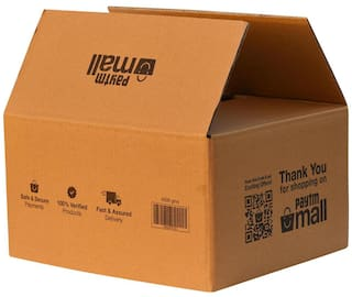 4000 gms PT036 Paytm Mall Branded Box 5Ply  13.4 x 11.8 x 7.5 inches (Pack of 50)