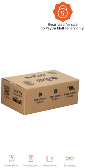 500 gms PT002 Paytm Mall Branded Boxes, 8 x 5 x 3 Inches (Pack of 200)
