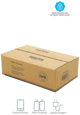 500 gms PT004 Paytm Mall Branded Boxes, 9 x 5.5 x 3 Inches (Pack of 100)