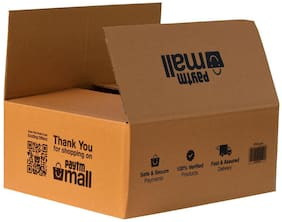 5000 gms PT034 Paytm Mall Branded Box 5Ply  16 x 14 x 6.8 inches (Pack of 10)