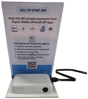 All in one QR with Powerbank
