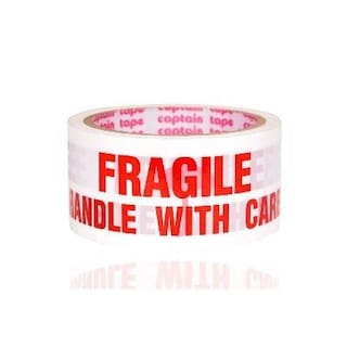 Fragile Printed Tape 65 m(Pack of 36)
