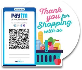 Thank you for Shopping with us Stickers (Set of 3)