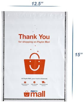 New Paytm Mall Branded, without POD Polybag 12 x 14 Inches (Pack of 200)