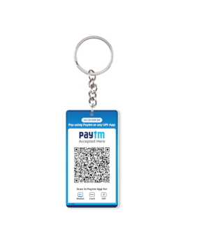 Paytm All In One Qr Keychains (Set Of 3)