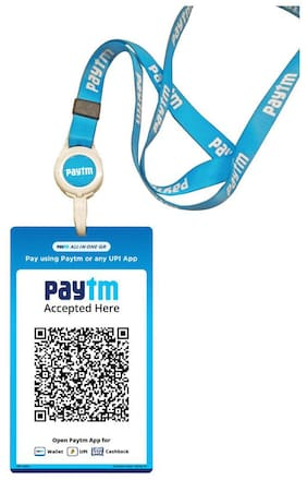 Paytm All In One Id Qr (Set Of 2)