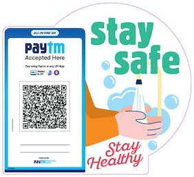 Stay Safe Stickers (Set of 3)