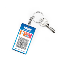 Paytm All In One Qr Keychains (Set Of 2)