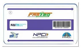 Paytm FASTag for Car/Jeep/Van Class 4 Vehicles (pack of 10)