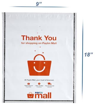 New Paytm Mall Branded, without POD Polybag 8 x 10 Inches (Pack of 100)