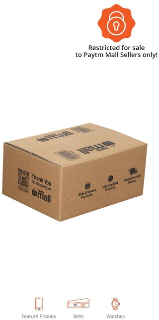 PT003 Paytm Mall Branded Boxes, 7.5 x 5.5 x 3.5 Inches (Pack of 50)