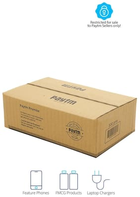 500 gms PT004 Paytm Mall Branded Boxes, 9 x 5.5 x 3 Inches (Pack of 50)