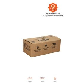 PT006 Paytm Mall Branded Boxes  29.46 cm (11.6 Inch) x 14.22 cm (5.6 Inch) x 11.17 cm (4.4 Inch)  (Pack of 50)