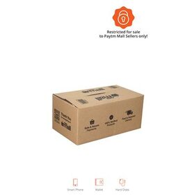 PT007 Paytm Mall Branded Boxes  26.67 cm (10.5 Inch) x 15.24 cm (6 Inch) x 12.19 cm (4.8 Inch)  (Pack of 50)