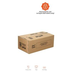 PT010 Paytm Mall Branded Boxes  33.02 cm (13 Inch) x 17.78 cm ( 7 Inch) x 12.7 cm (5 Inch) (Pack of 50)