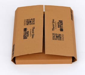 1000 gms PTF97 Paytm Mall Branded Boxes 12 x 10 x 2.4 x 4 (Flap) Inches (Pack of 50)