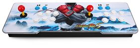 1220 in 1 Video Games Arcade Console Machine Double Joystick Pandora's Box mccxx VGA HDMI USB 2(White) #FunYouWant