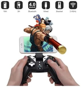 3 in 1 Bluetooth + 2.4ghz Wireless + Wired Gaming Controller Gamepad for Android/Windows/VR/PC/PS3