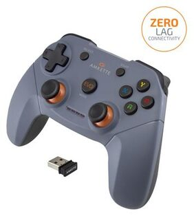 Amkette Evo Elite Wireless Gamepad for PC/PS3 - Fully supports Xinput