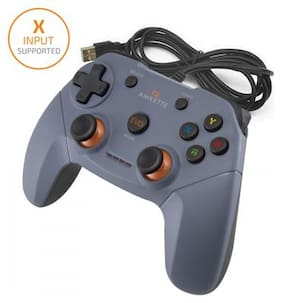 Amkette AMKETTE EVO ELITE WIRED PC GAMEPAD FOR PC/PS3/ANDROID Wireless Motion controller Pc - Grey