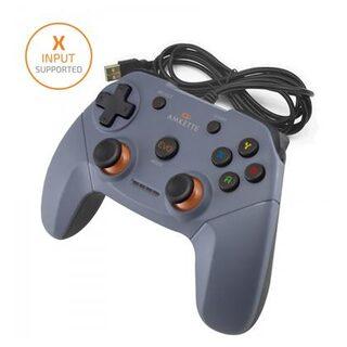 Amkette Evo Elite Wired PC Gamepad for PC/PS3