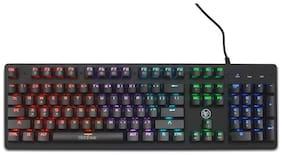 Ant Esports MK3000 Multicolour LED Backlit Wired Mechanical Keyboard (Black)