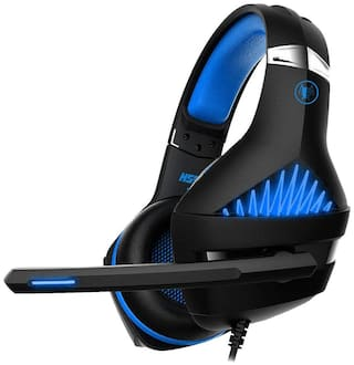 Ant Esports H500 On ear Headsets With Mic - Blue