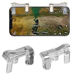 AVYUKTA Wireless Joysticks For Android ( Transparent )