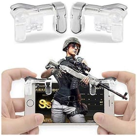 AVYUKTA Wireless Joysticks For Android ( Transparent )