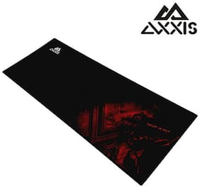 Axxis MP900 Control-Type Gaming Mousepad (Black/Red)
