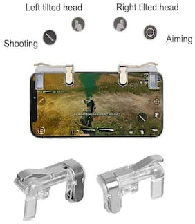 AZANIA Wireless Shoot & Aim Button For Android ( Transparent )