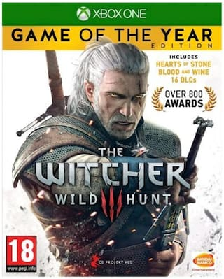Bandai Namco The Witcher 3 - Game Of The Year Edition (Xbox One)