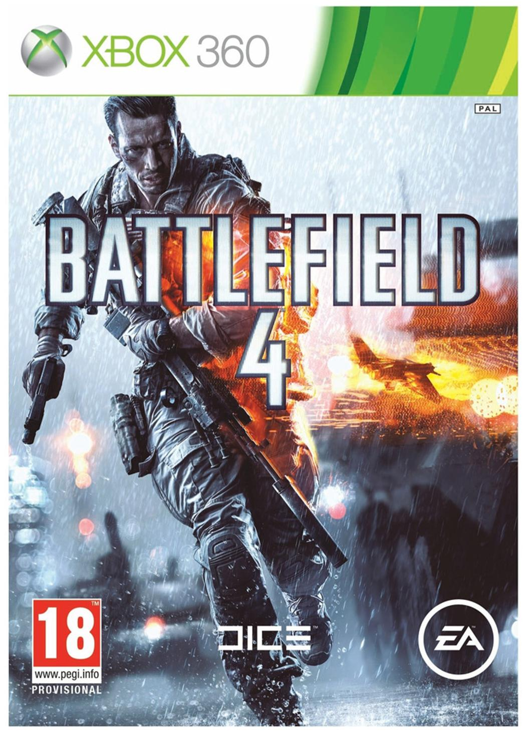 Battlefield 4 BF 4 (For Xbox 360 )