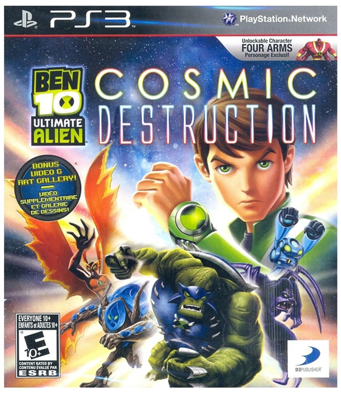 BEN 10 : Ultimate Alien Cosmic Destruction (For PlayStation 3)