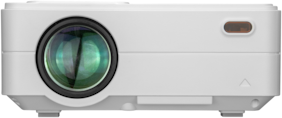 Boss S12 Full HD 3D 4000 Lumens Portable Projector (White)