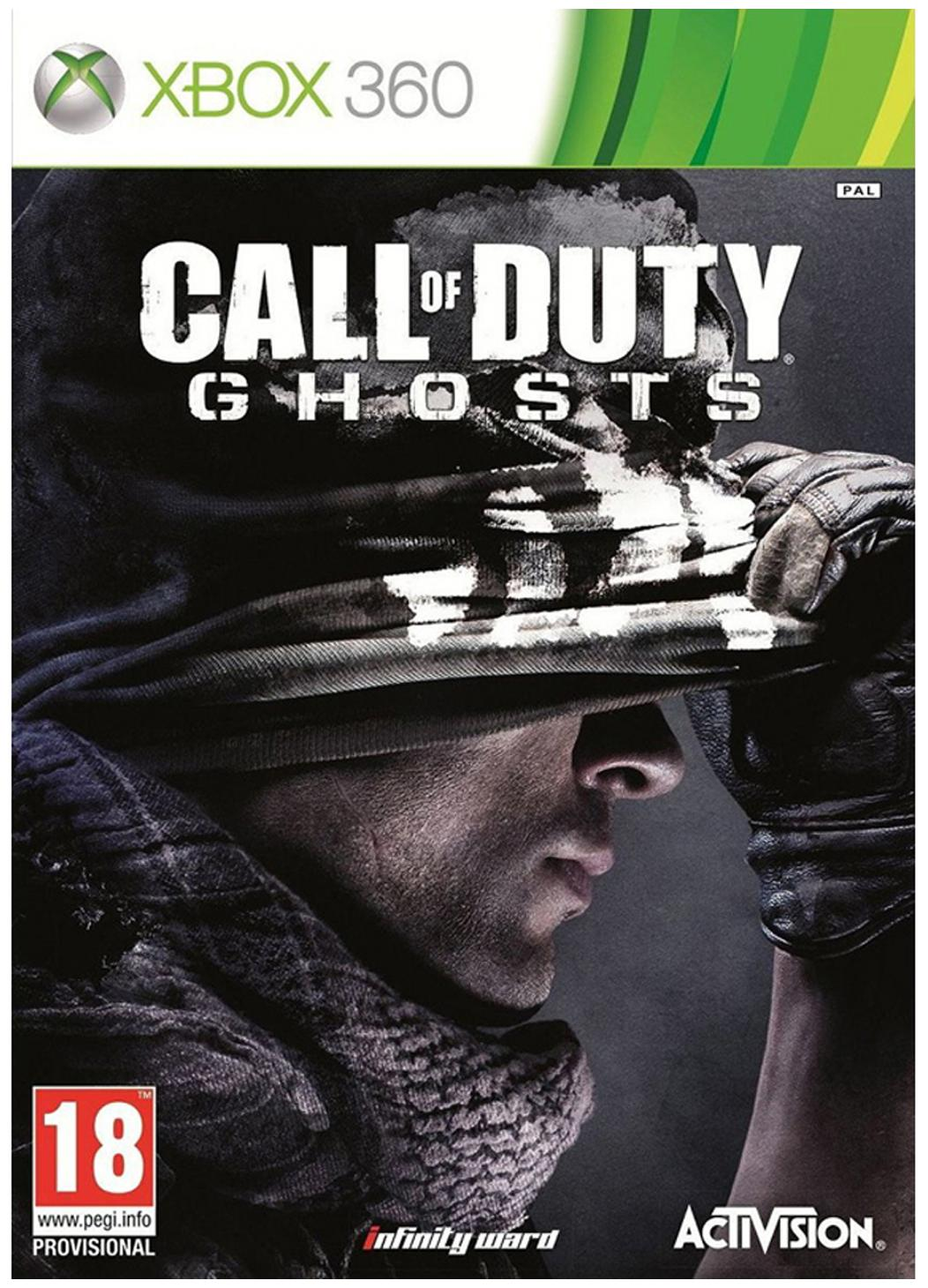 Call Of Duty: Ghosts COD (For Xbox 360 )