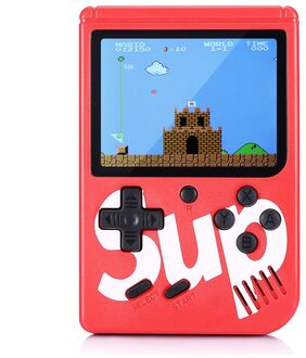 Classic Handheld Console with Built-in 168 Nostalgic Games(Red) #ToyWorld