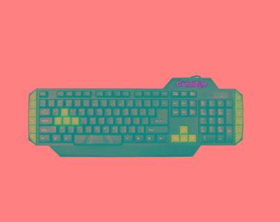 Cosmic Byte CB-GK-01 Vulcanoid Gaming Keyboard