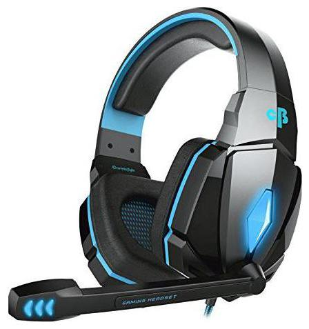 Cosmic Byte G4000 Over ear Gaming Headsets With Mic   Blue
