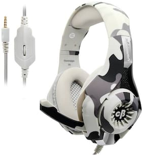 Cosmic Byte Over ear Gaming Headsets With Mic - Grey
