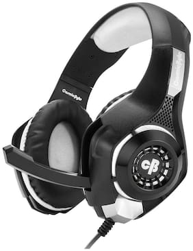 Cosmic Byte GS410 Over ear Headsets With Mic - Grey