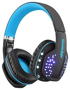 Cosmic Byte B3506 Over ear Headsets With Mic - Blue