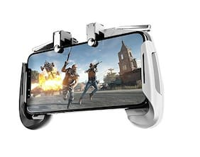 Crystal Digital Wireless Gamepad For Android ( Black & White )