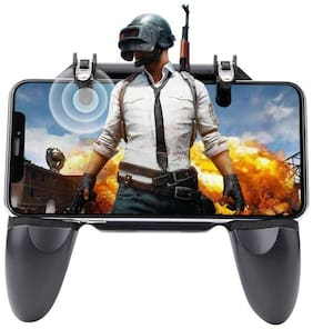 delhi electronic Wireless Gamepad For iOS & Android ( Black )