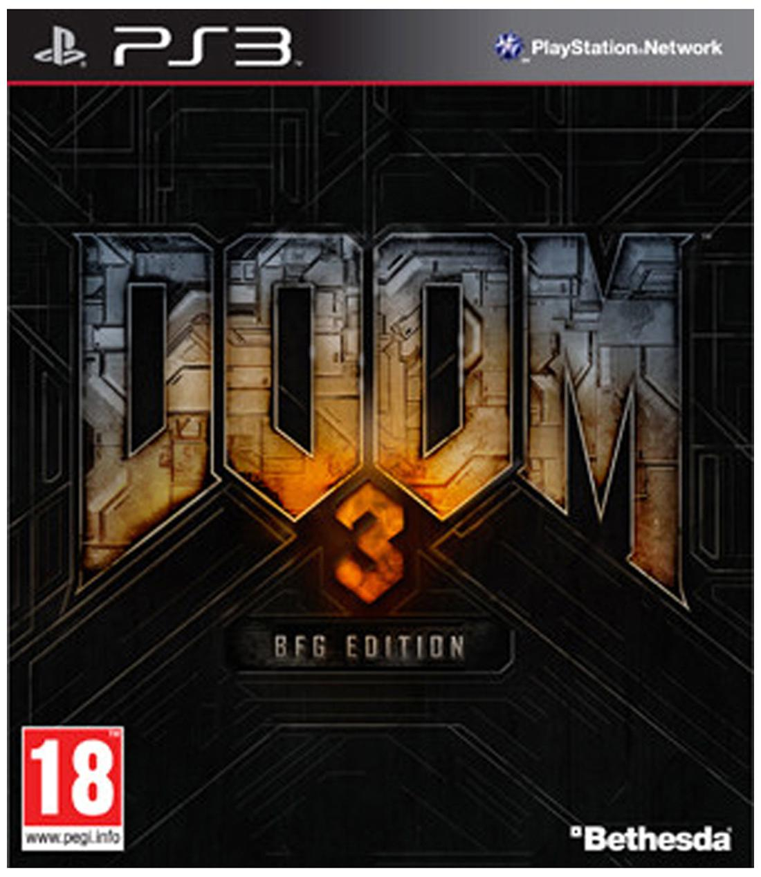 Doom 3 (BFG Edition) (For PlayStation 3)