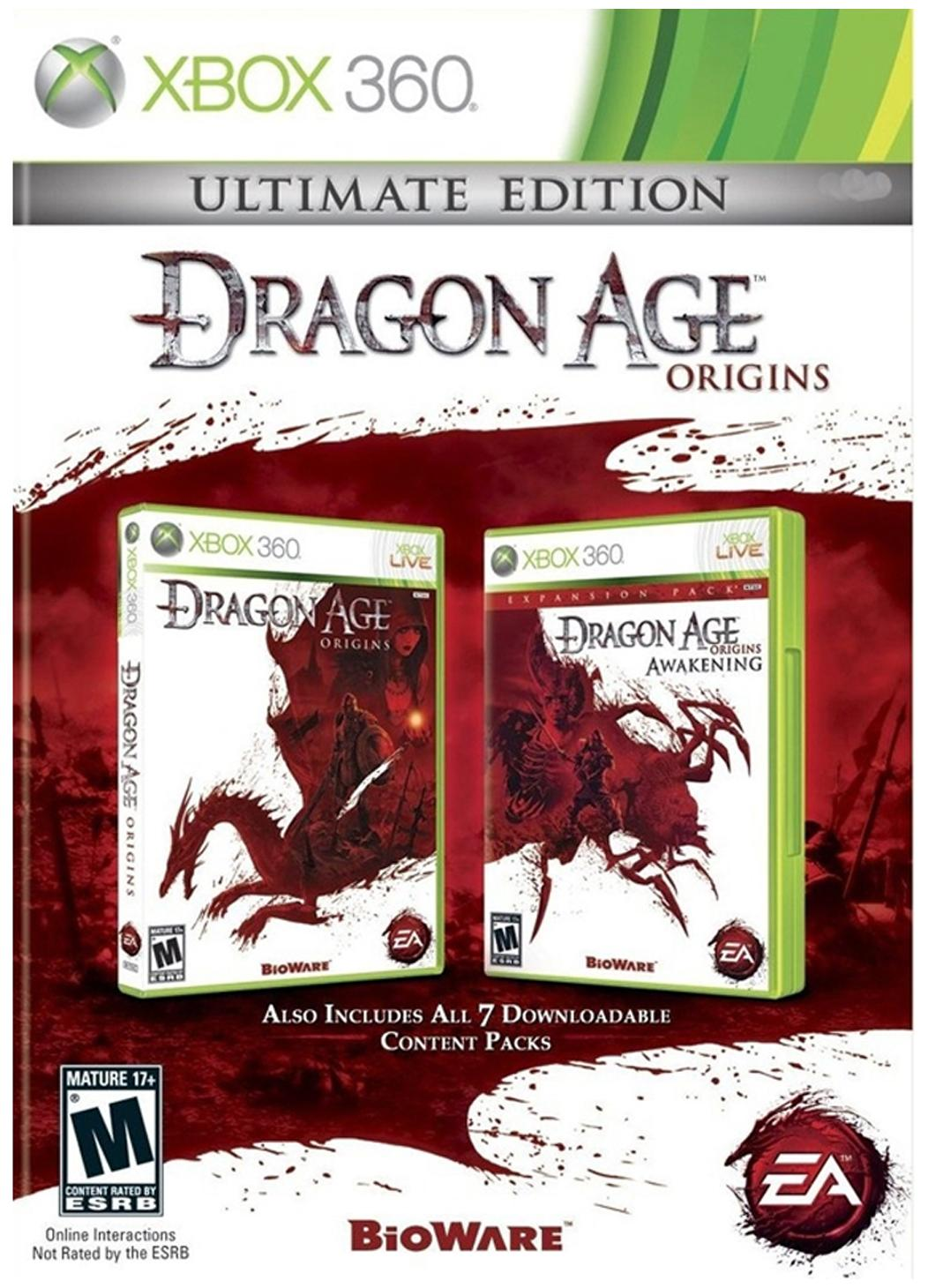 Dragon Age : Origins (Ultimate Edition) (For Xbox 360 )
