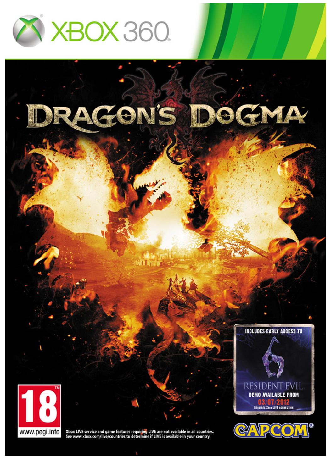 Dragons Dogma (For Xbox 360 )